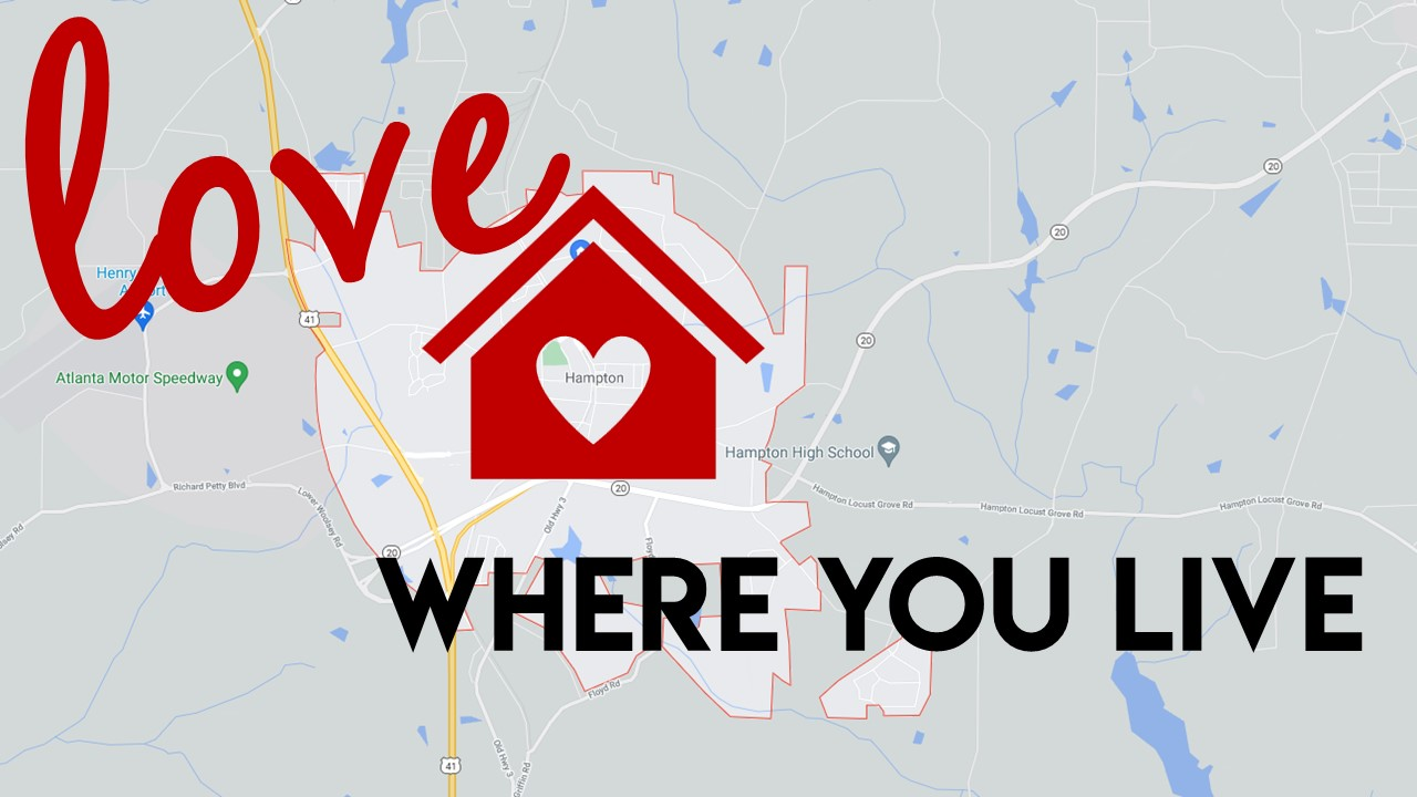 LOVE WHERE YOU LIVE: It's All About the Start